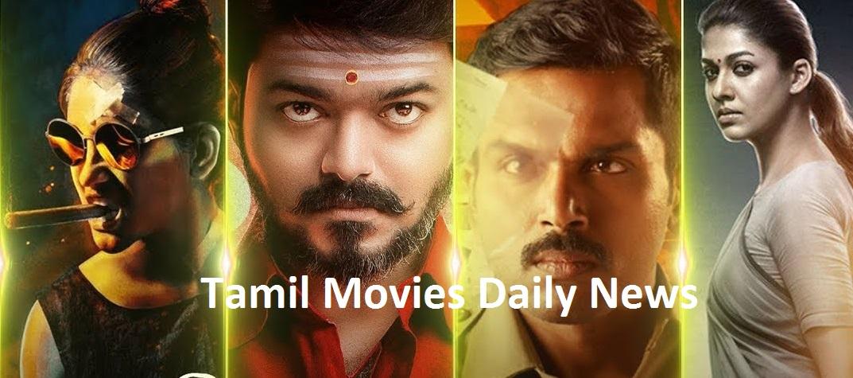 Tamil movie daily news